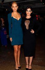 LIZZY CAPLAN at Cushnie Et Ochs Fashion Show in New York