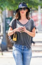 LIZZY CAPLAN Out and About in New York