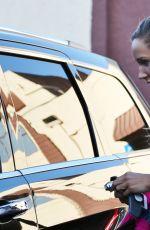 LOLO JONES leaves DWTS Rehearsal Studio in Los Angeles