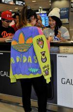 LOUISA ROSE ALLEN at Narita Anternational Airport in Tokyo