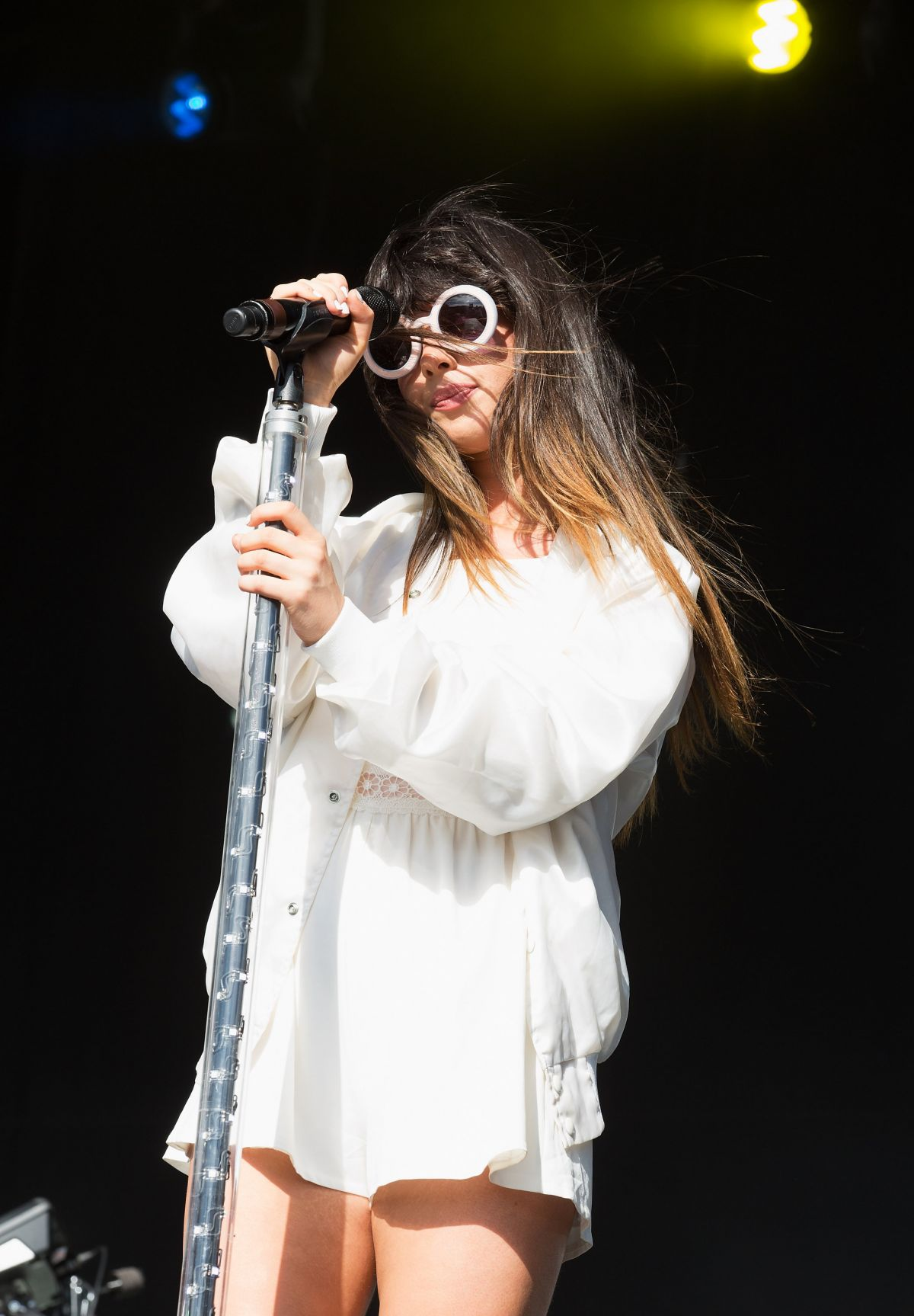 LOUISA ROSE ALLEN Performs at Fusion Festival 2014 in Birmingham