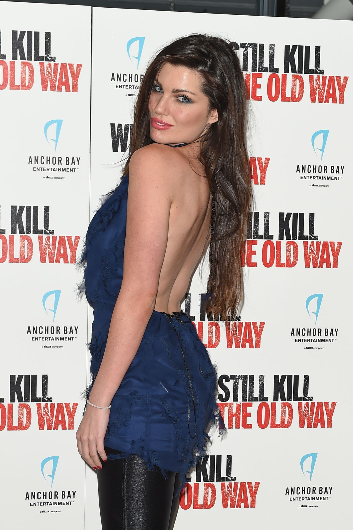 LOUISE CLIFFE at We Still Lill the Old Way Screening in London