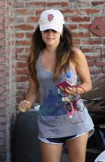 LUCY HALE Leaves a Gym in Los Angeles 1709