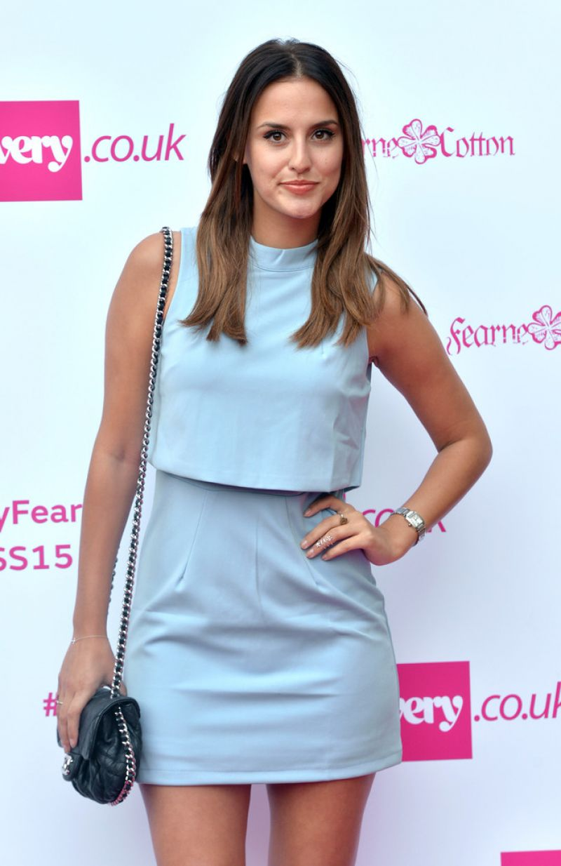 LUCY WATSON at Fearne Cotton for very.co.uk Photocall and Fashion Show in London