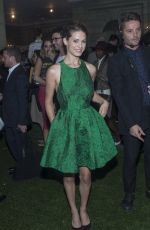 LYNDSY FONSECA at Alice+Olivia by Stacey Bendet Fashion Show in New York