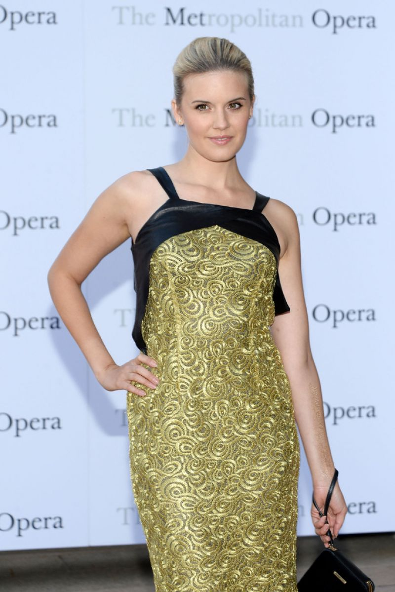 MAGGIE GRACE at Metropolitan Opera Season Opening in New York