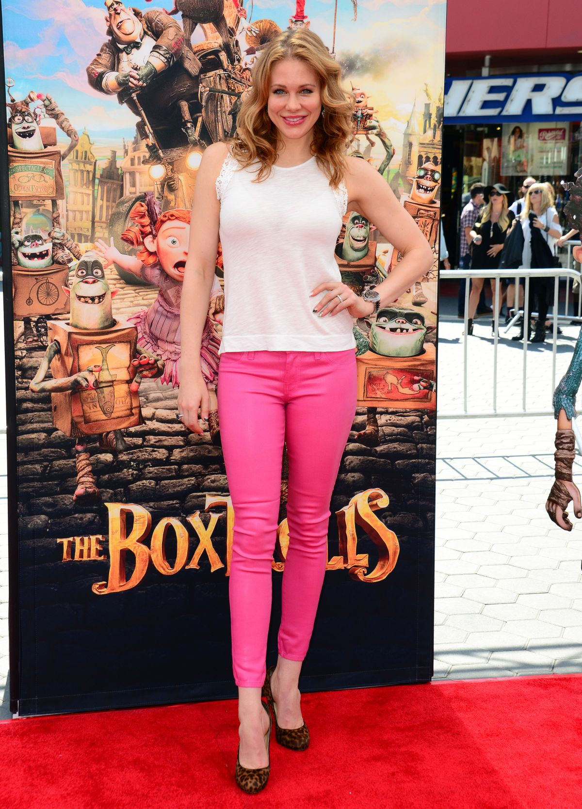 MAITLAND WARD at The Boxtrolls Premiere in Hollywood