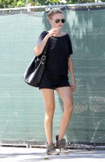 MALIN AKERMAN Out and About in West Hollywood