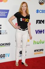 MARG HELGENBERGER at Stand Up 2 Cancer Live Benefit in Hollywood