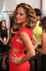 MARGARITA LEVIEVA at Nicole Miller Fashion Show in New York