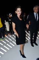 MARION COTILLARD at Christian Dior Fashion Show in Paris