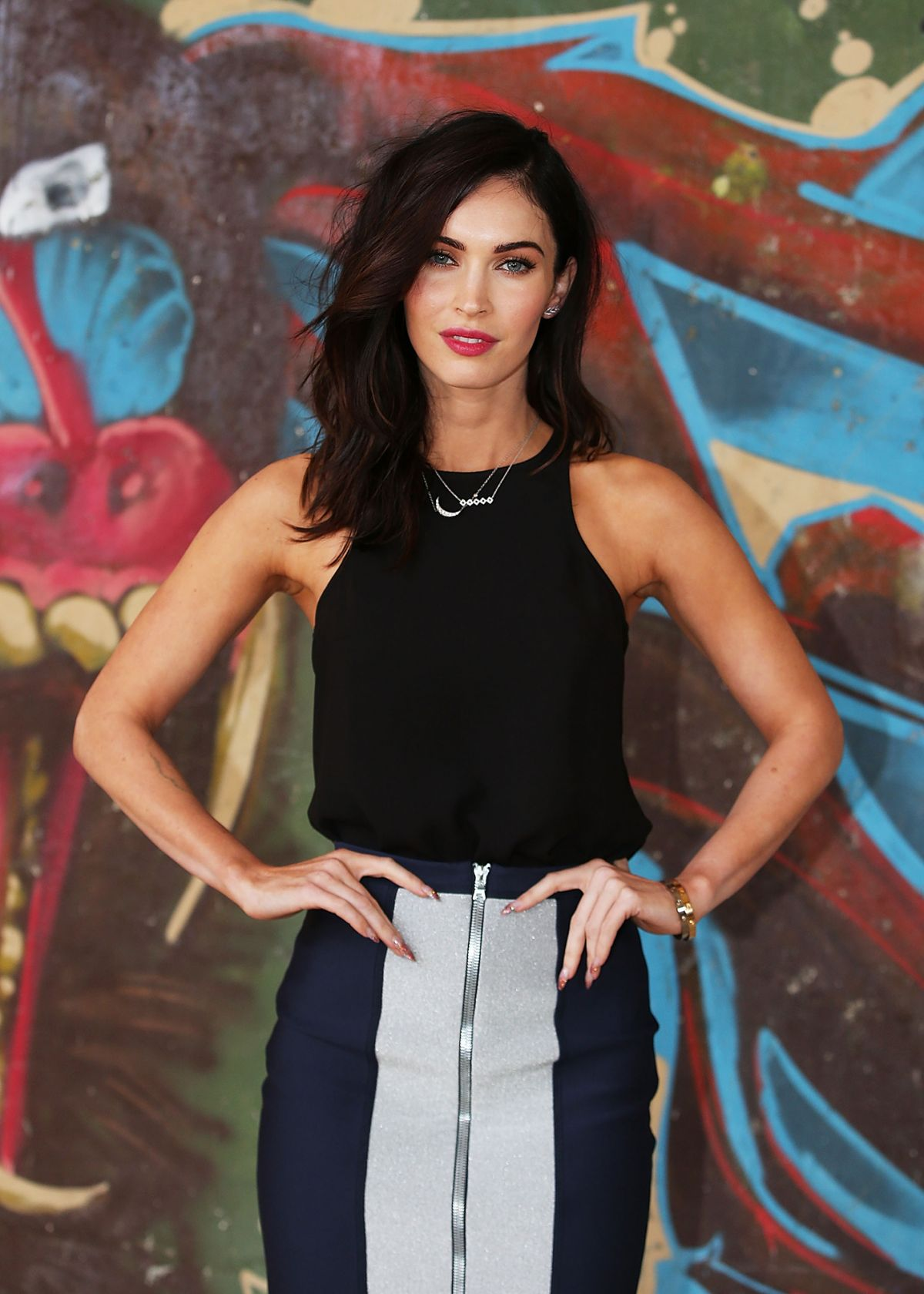 MEGAN FOX at Teenage Mutant Ninja Turtles Photocall in Sydney