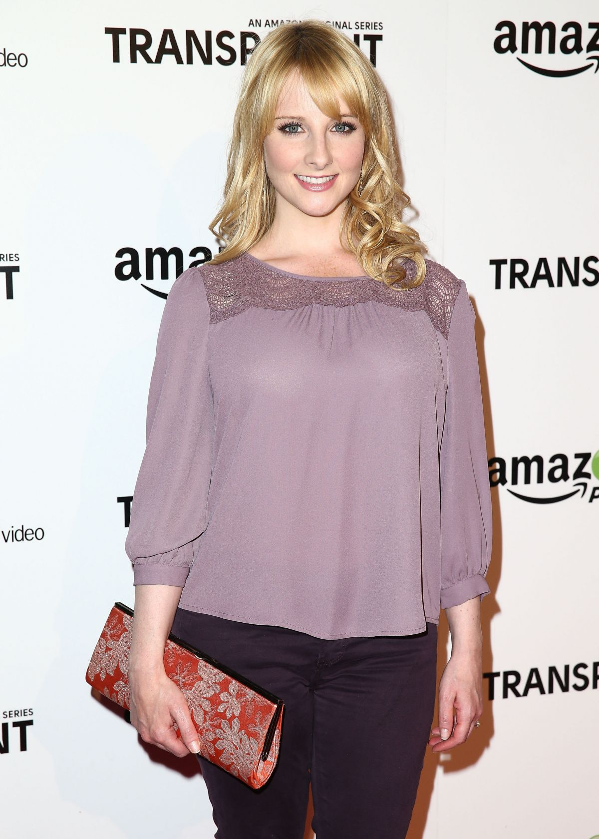 MELISSA RAUCH at Transparent Premiere in Los Angeles