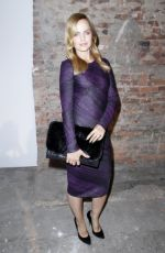 MENA SUVARI at Christian Siriano Fashion Show in New York