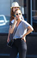 MENA SUVARI Out and About in Venice 2309