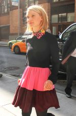 MIA WASIKOWSKA Out and About in New York