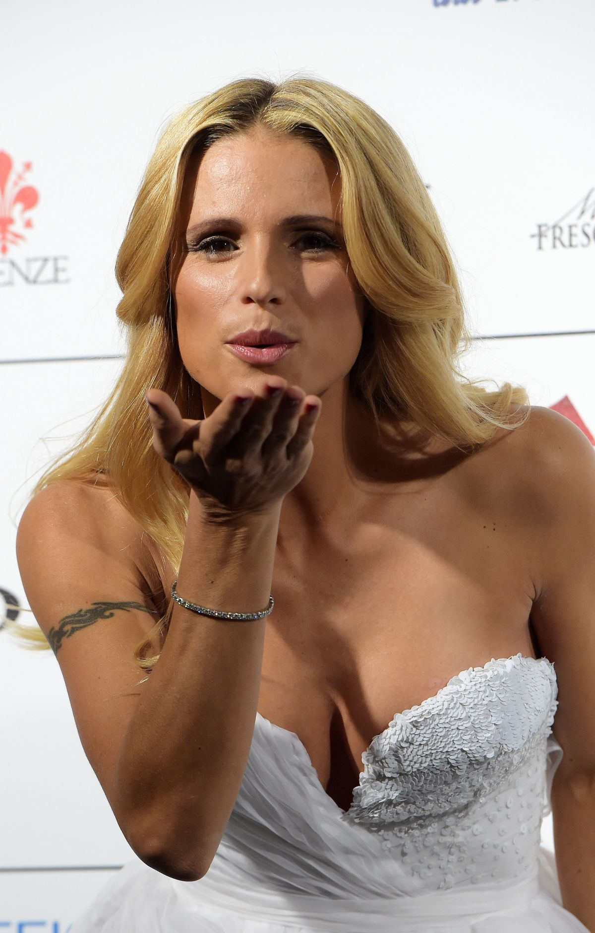MICHELLE HUNZIKER at Celebrity Fight nNight in Florence