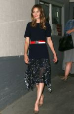 MICHELLE MONAGHAN Out and About in New York