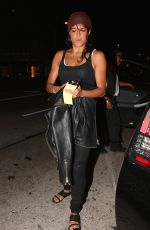 MICHELLE RODRIGUEZ Arrives at Madeo Restaurant in West Hollywood
