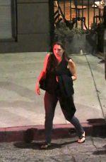 MILA KUNIS at Ink in West Hollywood
