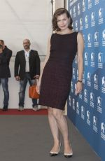 MILLA JOVOVICH at Cymbeline Photocall at Venice Film Festivel