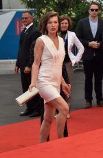MILLA JOVOVICH at Cymbeline Premiere at Venice Film Festivel