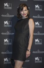 MILLA JOVOVICH at Jaeger Lecoultre Gala Dinner in Venice