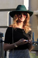 MILLIE MACKINTOSH Out and About in London 1609
