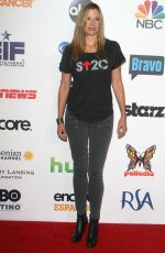 MIRA SORVINO at Stand Up 2 Cancer Live Benefit in Hollywood