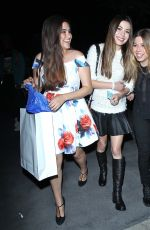 MIRANDA COSGROVE and JENNETTE MCCURDY Arrives at Katy Perry concert in