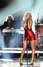 MIRANDA LAMBERT Performs at Fashion Rocks 2014 in New York