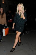 MOLLIE KING Arrives at Sony Xperia Z3 Launch Party in London