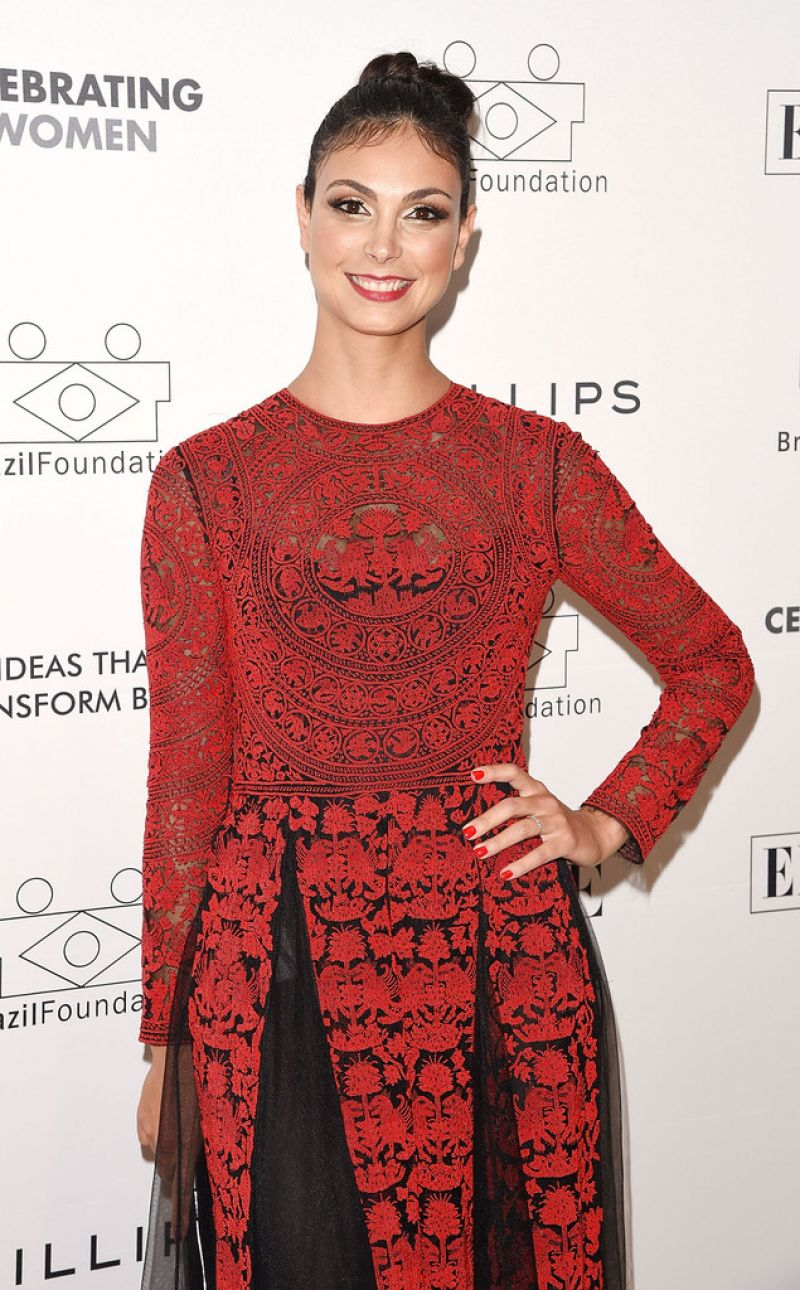 MORENA BACCARIN at 2014 Brazil Foundation Gala in New York