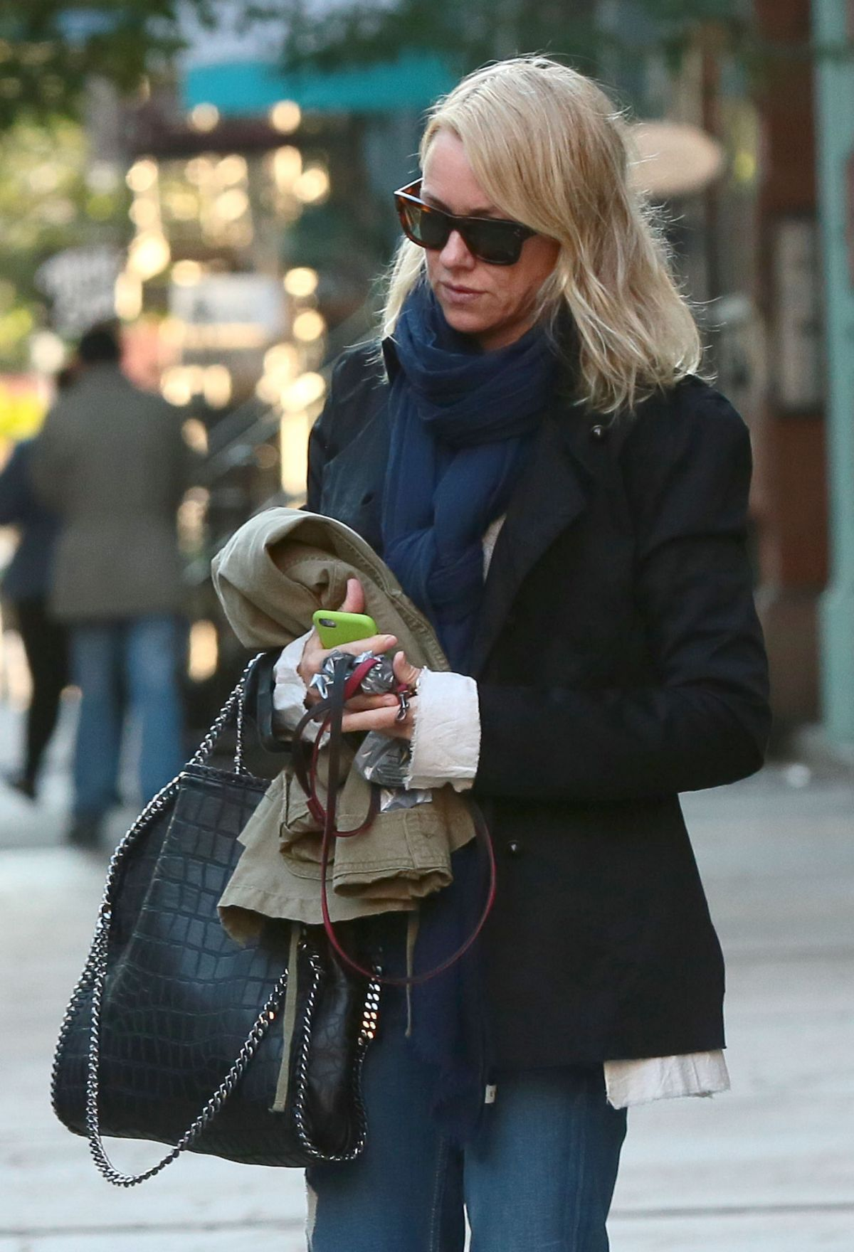 NAOMI WATTS Leaves Her Apartment in New York 2309