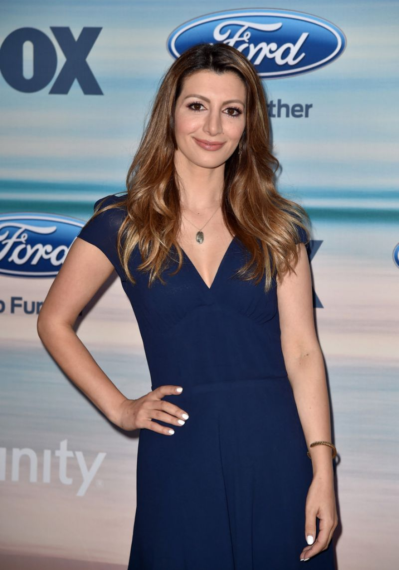 NASIM PEDRAD at Fox Fall Eco-casino 2014 Party in Santa Monica