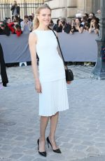 NATALIA VODIANOVA at Christian Dior Fashion Show in Paris