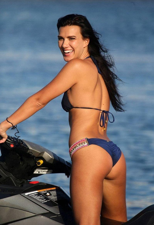 NATALIE BIRN in Bikini at a Beach in Mykonos
