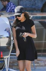 NAYA RIVERA Leaves Spitz Resturant in Los Angeles