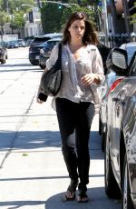 NEVE CAMPBELL Out and About in Beverly Hills 2509