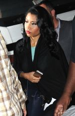 NICKI MINAJ Arrives at a Photoshoot in New York