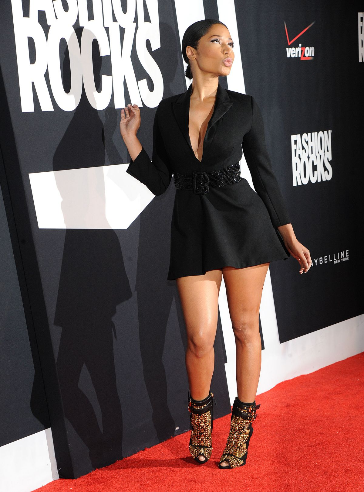 Nicki Minaj At Fashion Rocks 2014 In New York Hawtcelebs Hawtcelebs