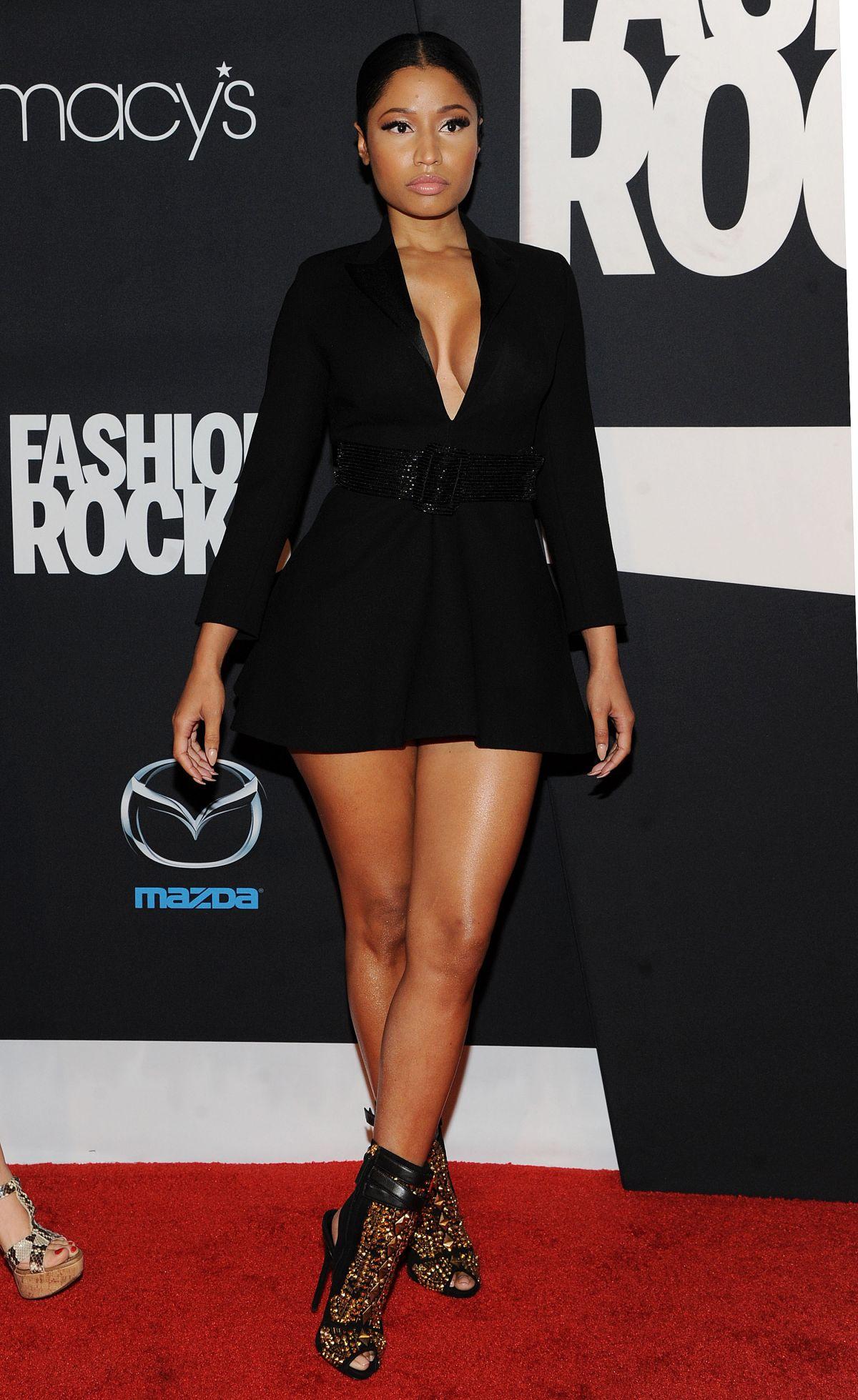 Nicki Minaj At Fashion Rocks 2014 In New York Hawtcelebs