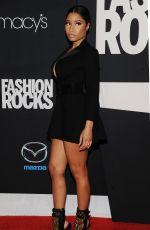 NICKI MINAJ at Fashion Rocks 2014 in New York