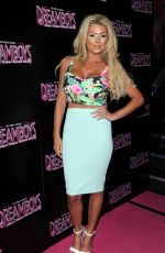 NICOLA MCLEAN at Deamboys Fit and Famous Tour 2014 in London