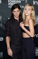 NICOLA PELTZ at Hollywood Foreign Press Association and Instyle Party in Toronto