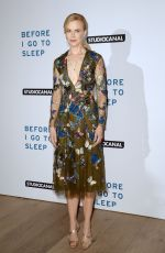NICOLE KIDMAN at Before I Go to Sleep Screening in London