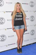 NICOLE MCLEAN at Jeans for Genes Day in London