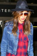 NICOLE SCHERZINGER Arrives at LAX Airport in Los Angeles 2909