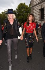 NICOLE SCHERZINGER at Matthew Williamson Fashion Show in London