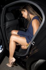 NICOLE SCHERZINGER Leaves Hakkasan Restaurant in London 1509